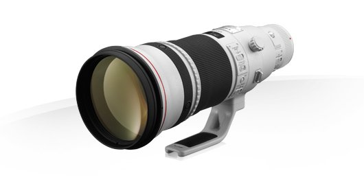 Canon 500 EF 500mm f4L IS II USM
