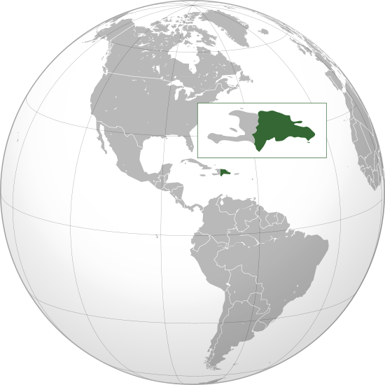 Carte République Dominicaine